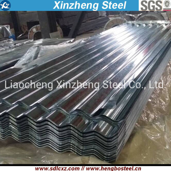 Sgch Galvanized Corrugated Steel Roofing Sheet in Coil Dx51d