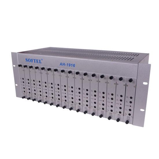 Softel 16 Channels CATV Agile Modulator Cable TV Modulator