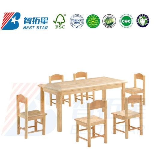Kindergarten Classroom Kids Daycare School Wooden Furniture
