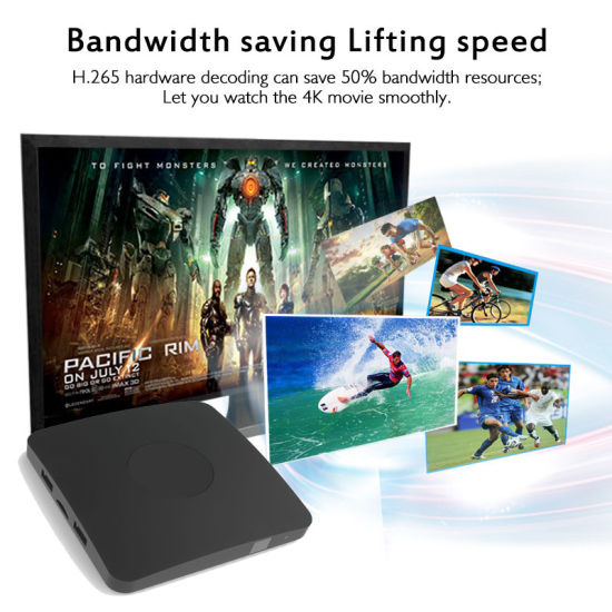 Supper Smart Amlogic S905X Processor Quad Core   2GB RAM Android TV Box pictures & photos