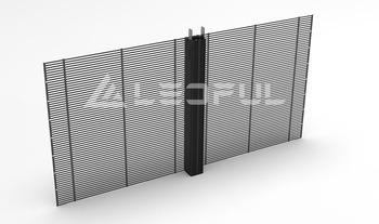 Outdoor/Indoor Transparent LED Poster Video Screen Advertising Display (TGC7.8)