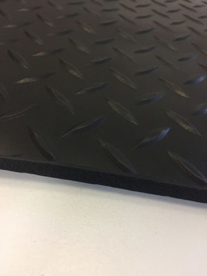 PVC Surface Sponge Base Anti Fatigue Mat pictures & photos