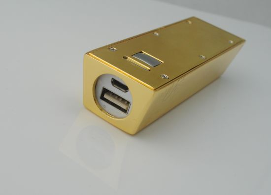 2016 Hot Sell Gold Mobile Power Supply 2400-6000mAh pictures & photos