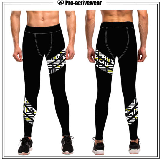2017 Fashionable Compression Men Running Tights pictures & photos