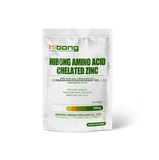 Amino Acid Chelated Zinc Fertilizer, Micronutrient Fertilizers, Organic Fertilizer