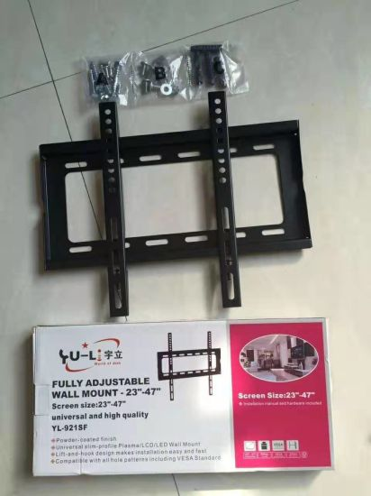 Hot Selling Heavy-Duty Fixed 23-47 Inch Vesa 400*400mm TV Mount Wall Bracket pictures & photos