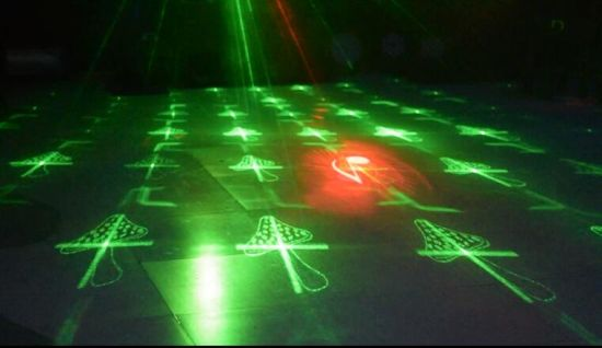 Guangzhou Baiyun District Cheap Double Hole 20 Pattern Laser Light with Ce RoHS pictures & photos