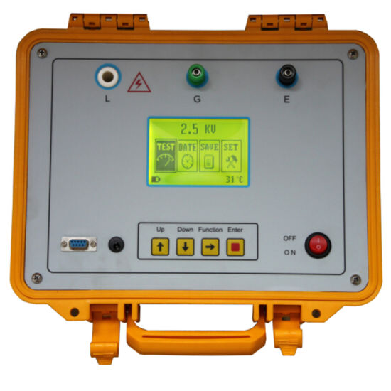 Insulation Resistance Tester, Digital Ohm Meter, Intelligent Megger pictures & photos