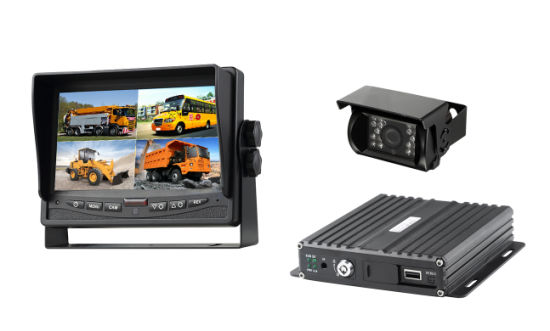 Ahd 4CH Mobile DVR System with GPS, 3G/4G, WiFi pictures & photos