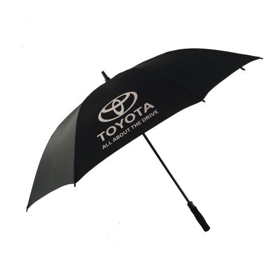 Logo Customized Auto Open Straight Golf Umbrella (BR-ST-614)