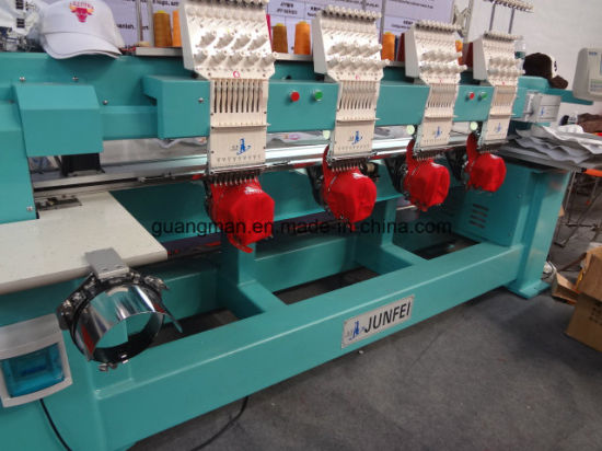 Hye-T 904 Tubular Cap Embroidery Machine pictures & photos