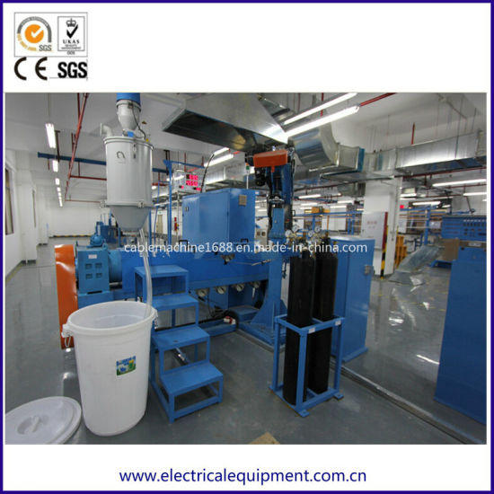 Coaxial Cable Rg Cable Physical Foaming Cable Extrusion Machine