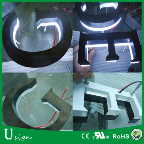 China 3D LED Letter Sign Factory Price Channel Letter LED Fast