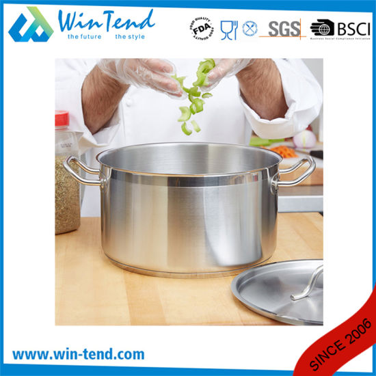 Low Body Hard Cast Sanded Heat Conduction Sandwich Combine Bottom Induction Sauce Pan pictures & photos