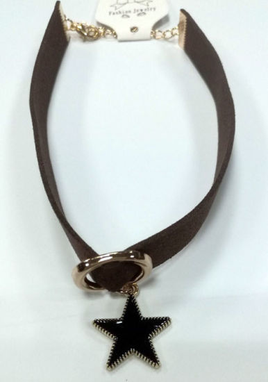 Fashion Jewelry Choker Necklace with Key with Rhinestones pictures & photos