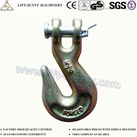 """5/16"""" A330 Forged Alloy Steel G70 Clevis Grab Hook"""