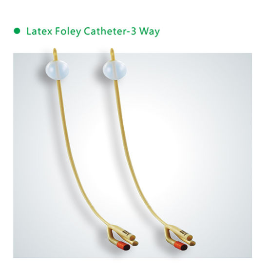 Disposable Foley Catheter 3-Way with High Quality