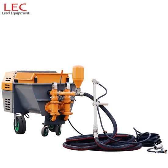 Electric Motor Piston Type Mortar Spray Machine