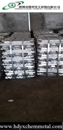 Zinc Ingots 99.995% Manufacturer/Zinc Ingot Supplier