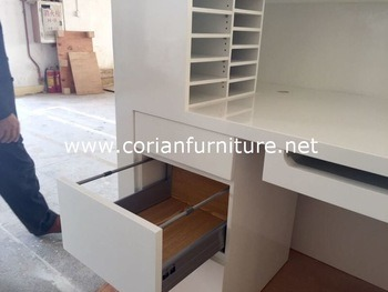 Corian Solid Surface Office Furniture Cabinets Corian Door & China Corian Solid Surface Office Furniture Cabinets Corian Door ...