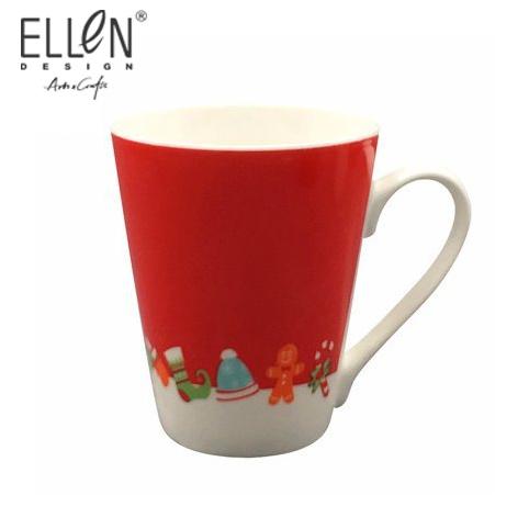 Wholesale Promotional Gift Christmas Ceramic Coffee Mug