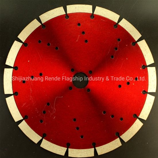 242 mm Diameter Segment Dry Cutting Type Diamond Saw Blade for All Stones pictures & photos