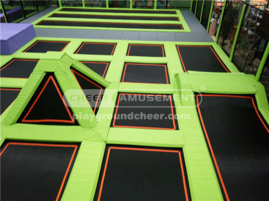Cheer Amusement Commercial Trampoline Park Equipment pictures & photos