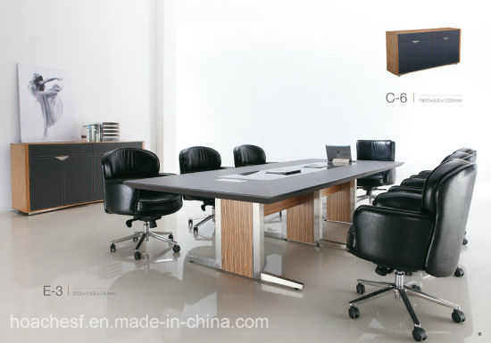 New High Class Conference Desk PVC Leather (E3) pictures & photos