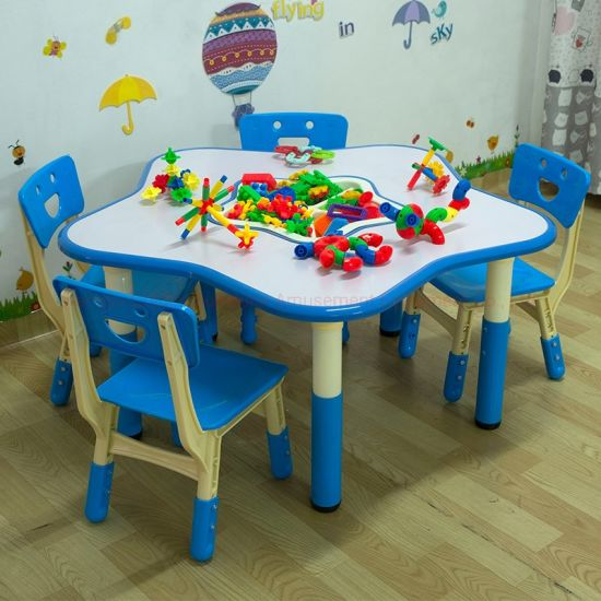 School Furnitures Study Table with Adjustable Heigh Function