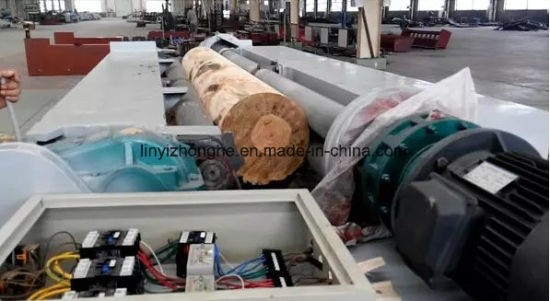 8 Feet Wood Log Rounding Peeling Debarking Machine pictures & photos