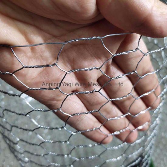 """0.7mm*1/2"""" Hot DIP Galvanized Hexagonal Wire Netting Chicken Coop Wire Netting Hexagonal Wire Mesh"""