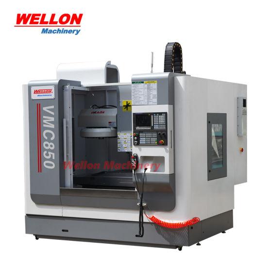 Vmc850 CNC Milling Machine Universal Vertical Machining Center