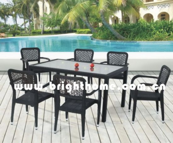 Garden Furniture/ Chairs and Tables / Dining Set (BP-331) pictures & photos