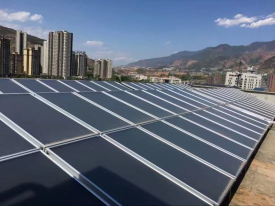 Flat Plate Solar Collector with European Solar Keymark Certificate