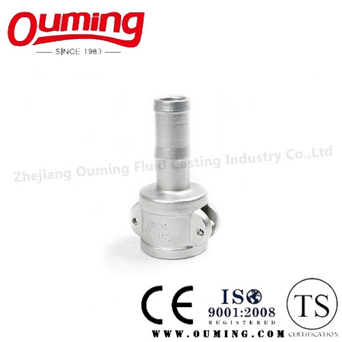 Stainless Steel C-Type Quick Coupling Casting with Precision Investment (OEM/ODM) pictures & photos