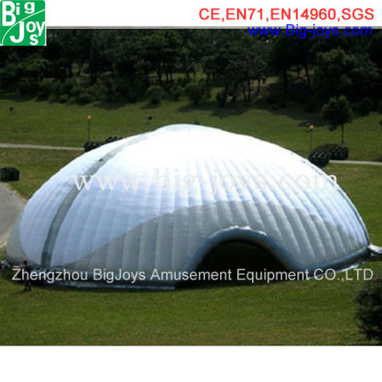 White Dome Tent, Inflatable Promotional Tent, Inflatable Lawn Tent (BJ-TT13)