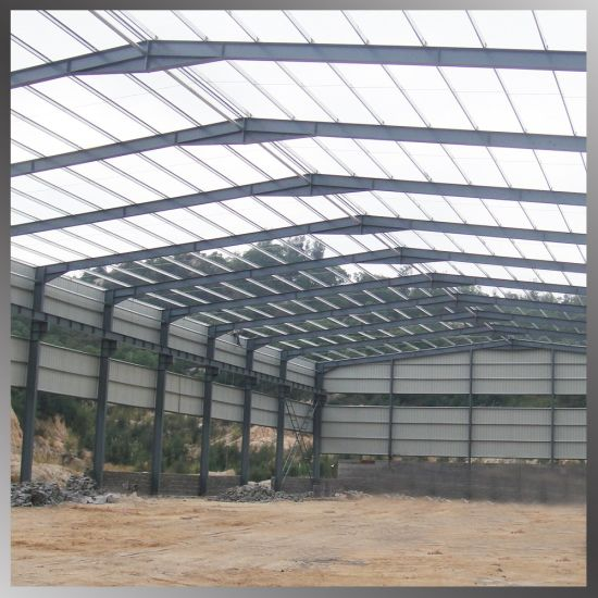 Design Fabrication and Supply Prefab Steel Structures for Industrial Warehouse Workshop pictures & photos