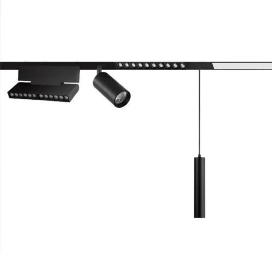 LED No Main Light Design Surface Mounted/Dark Mounted Magnetic Track Light