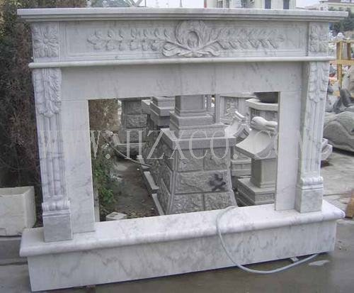 White Marble/Yellow Marble/Granite Fireplace for Indoor Decoration pictures & photos