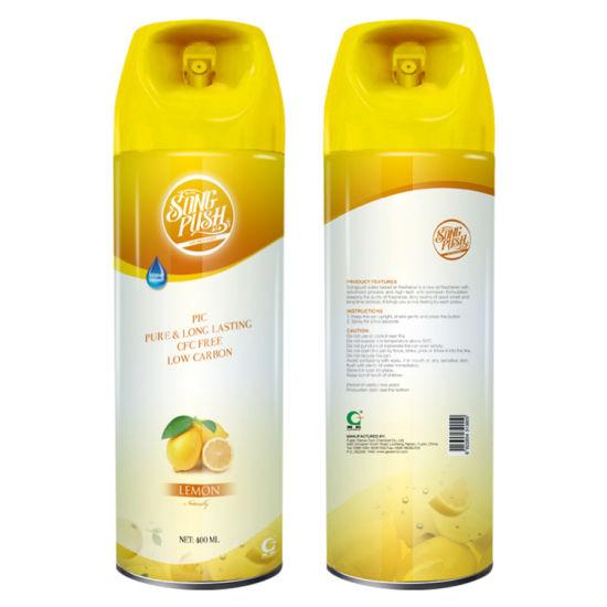 Songpush or OEM Air Freshener Spray with High Quality Fragrances