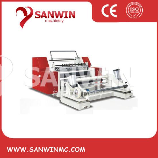 BOPP Pet PVC Film High Speed Slitter Rewinder Slitting Machine