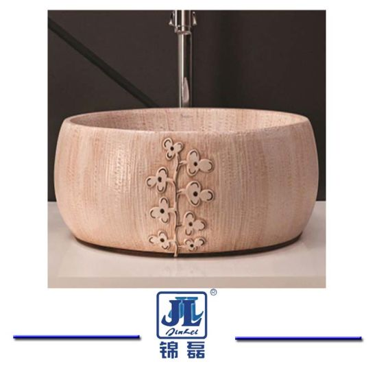 Polished Granite Marble Stone Wash Basin for Bathroom/Kitchen/Countertop