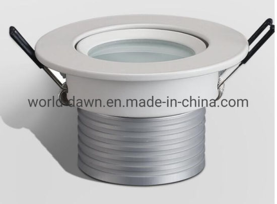 Good Quality IP65 Waterproof Downlight Recessed LED Ceiling Light for Bathroom