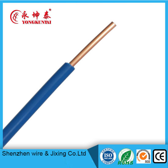 PVC Insulated Copper Electrical/Electric Wire pictures & photos