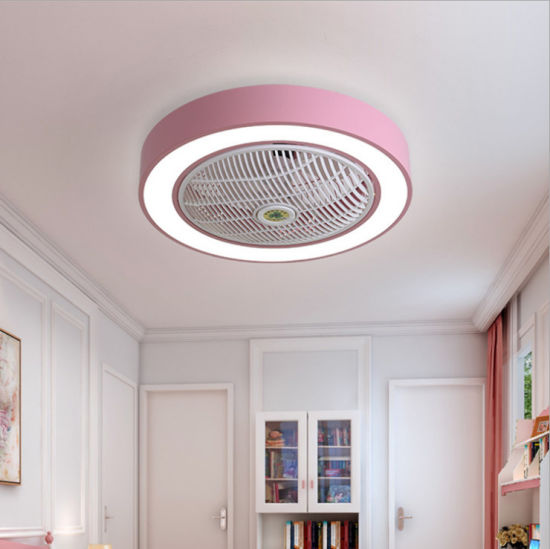Amazon Hot Sale Various Styles LED Round Ceiling Fan Light