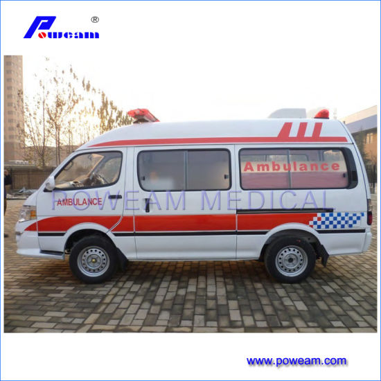 4X2 High Roof Ambulance for Sale