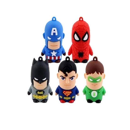 4GB/8g/16g/32g Cartoon USB2.0 Flash Memory Stick Pen Drive Metal for Laptop pictures & photos
