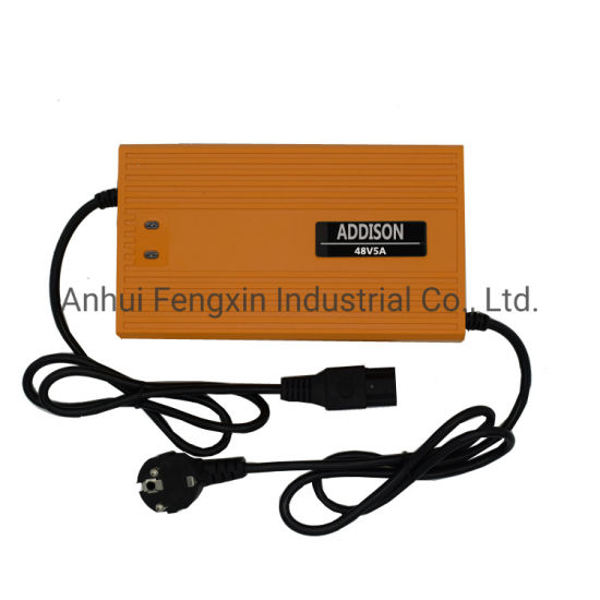 48V Lead Acid Battery Charger for Electric Bicycle/E-Scooters/Golf Vehicle/Household-Appliances