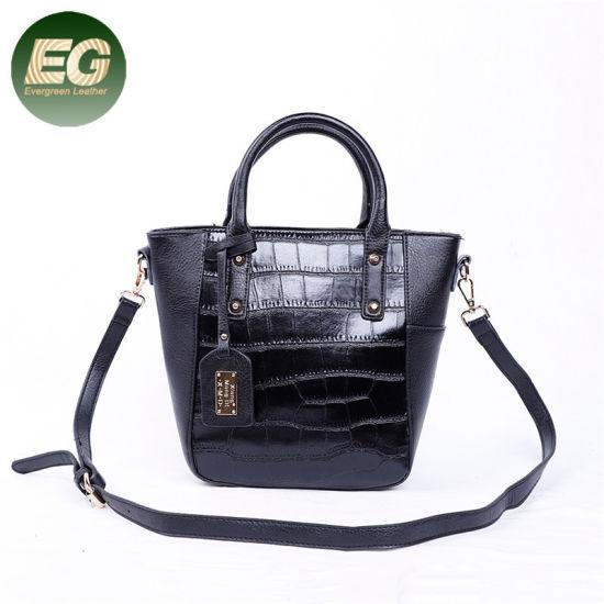 Vintage Style Fashion Wholesale Classical PU Handbag Ladies Shoulder Bag Sh706