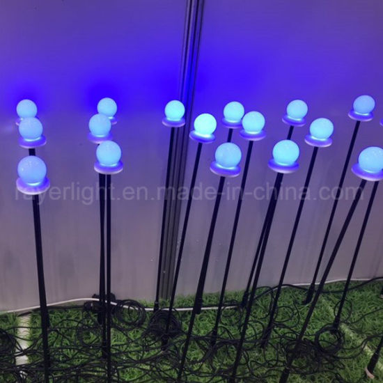 2018 New Buult- in IC LED Ball Christmas Decoration for Outdoor Garden